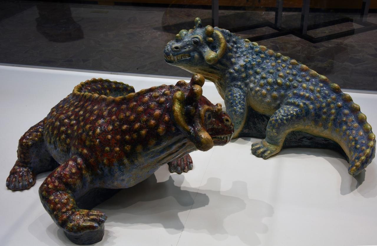 В Палеонтологическом музее открылась выставка «Палеоарт в скульптуре»