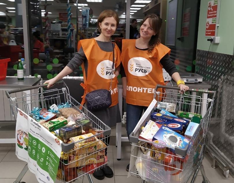 Прихожане Казанского храма на благотворительной акции собрали 23 коробки продуктов