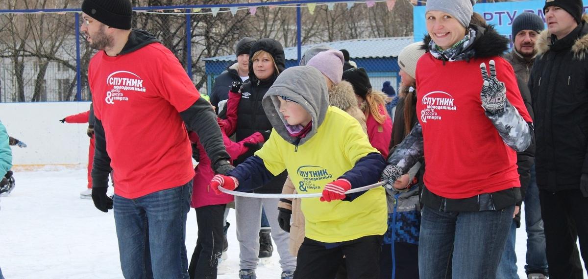Спортивные семьи Теплого Стана приняли участие в окружной спартакиаде