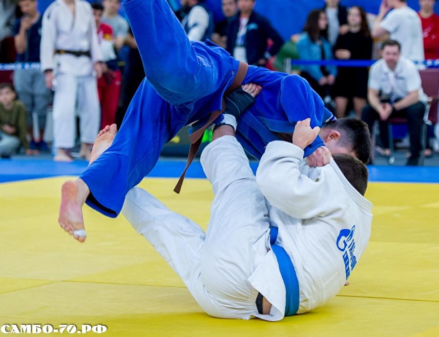 На первенстве Москвы дзюдоисты «Самбо-70» завоевали 7 золотых медалей