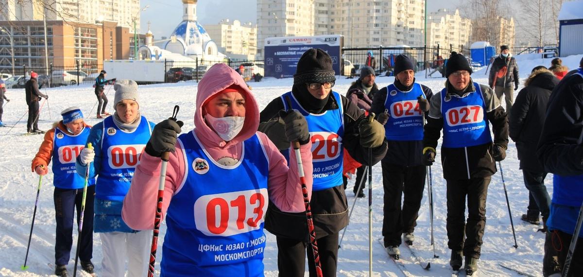 Лыжники Теплого Стана стали призерами окружного турнира